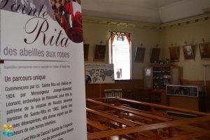 """Exposition """"Des abeilles aux roses"""", Sainte-Rita"""